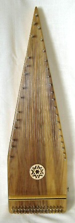 Bowed Psaltery with Pick-up